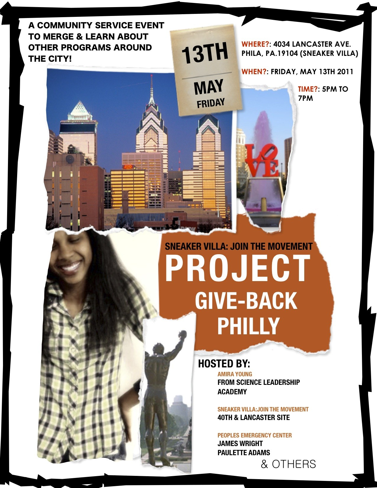 PROJECT GIVE BACK PHILLY